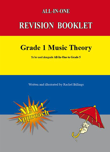 Aaron publications Grade 1 Music Theory Revision Booklet