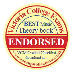 victoria college exams best music theory book endorsed