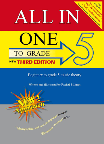 All-In-One To Grade 5 Music Theory, 3rd edition