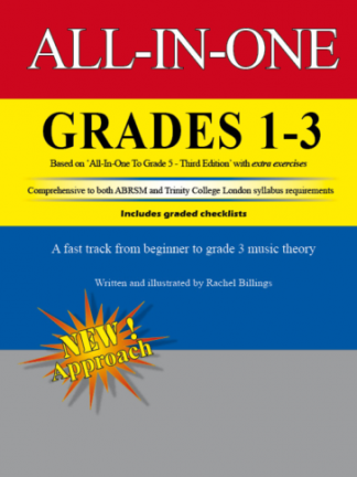 All-In-One Grades 1 to 3 music theory