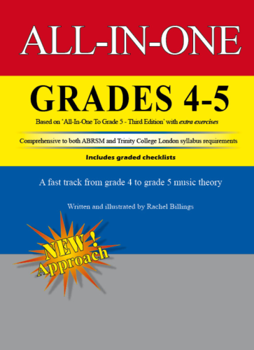 All-In-One Grades 4 to 5 Music Theory